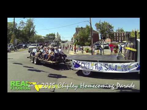 Chipley, Florida Homecoming Parade on Friday, October 16, 2015
