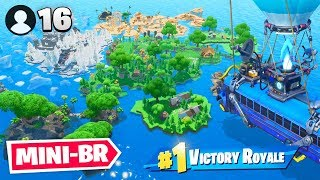 16 Spieler MINI BATTLE ROYALE in Fortnite Creative!