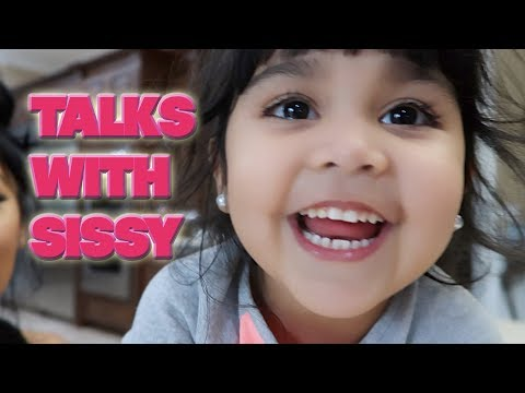 TALKS WITH SISSY AND SNOOKI  Does she want a brother or sister next?  Her favorite wrestler Ep. 1