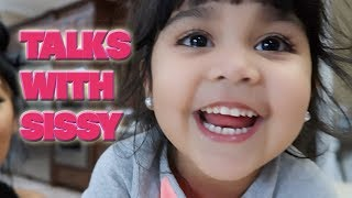 TALKS WITH SISSY AND SNOOKI | Does she want a brother or sister next? + Her favorite wrestler Ep. 1