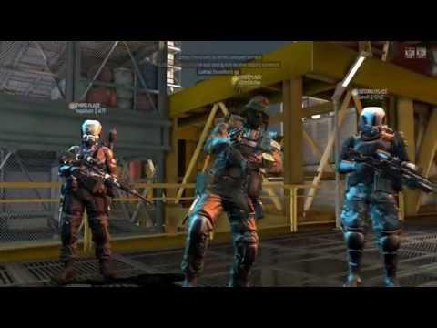 Blacklight Retribution / Mapa: Offshore / Arma: Bullpup Full Auto / Heroe: Chrnos Electronic Warfare