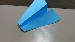 Paper Airplane Origami - Traditional Origami Jet Plane Ver. 3