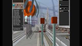 Kontrollü AI oluşturma (Bilgisayar) Demiryolu işlerinde trenler