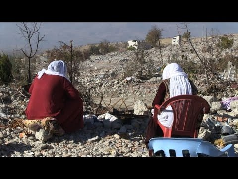 Kurds in south east Turkey return to homeland in ruins