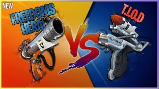 FORTNITE // FREEDOMS HERALD VS. T.I.O.D // WHICH IS THE AOE KING?