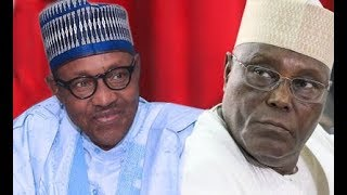 See How President Buhari & Atiku Abubakar Reacted As INEC Announces Winner of 2019 Presidential
