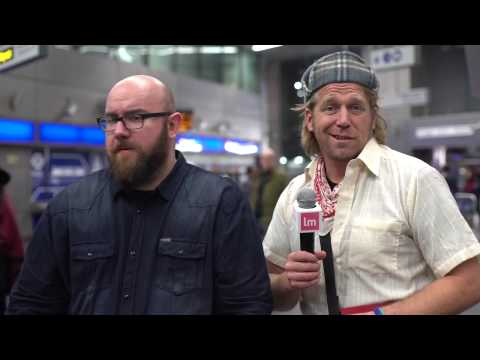 Tony Law & Scott Gibson -  Stand-Up on the London Underground