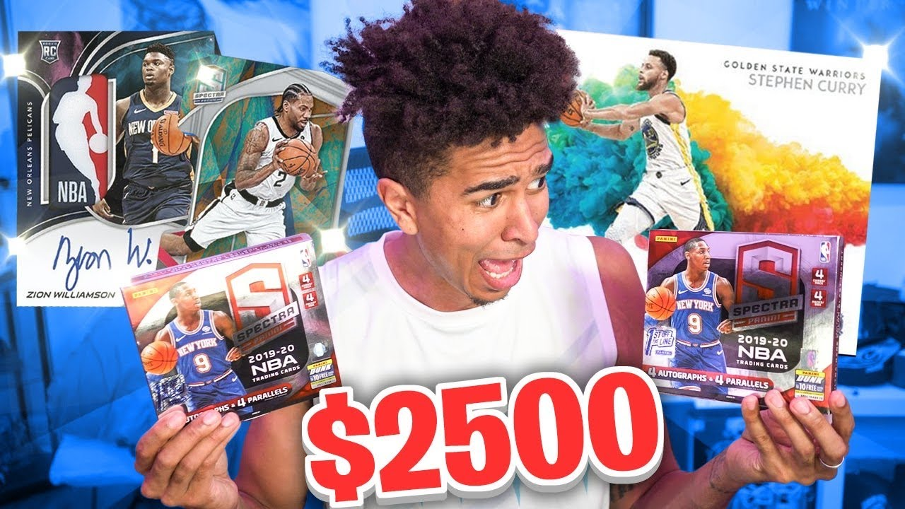 I Spent $2500 for 2 NBA Boxes... *INSANE IRL NBA Basketball Pack Opening*