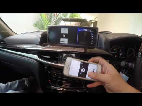 Lexus LX570 (2016) - Fm conversion + mirror link (Indonesia-Batam)
