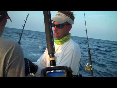 Offshore Office - Fishing with Howard, Todd and Daniel - June 4, 2011