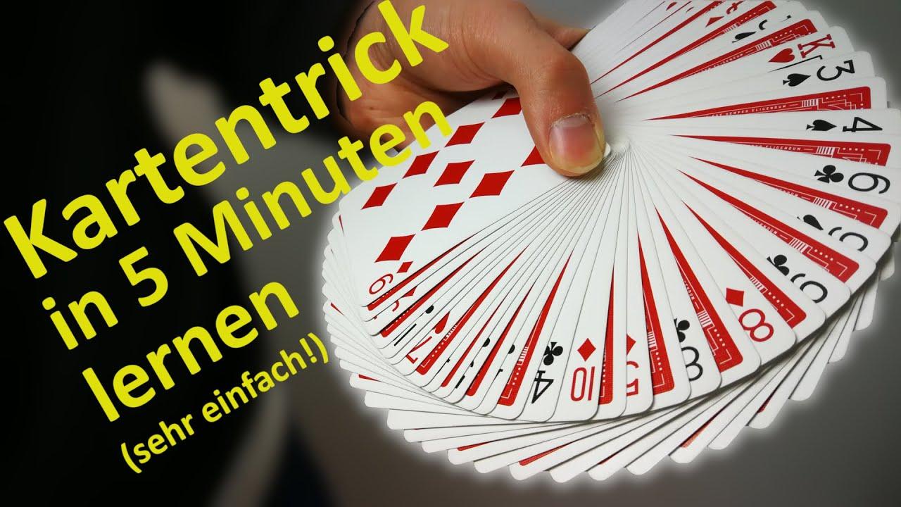 Kartentrick Anleitung