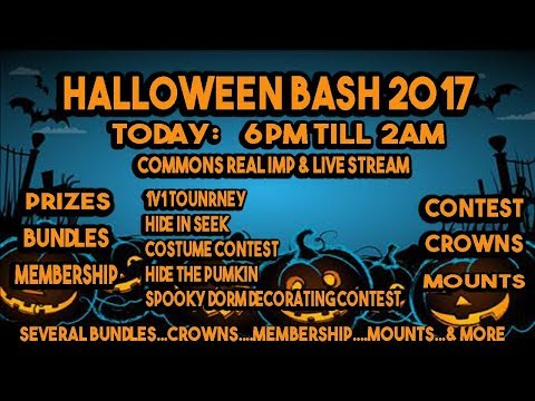 HALLOWEEN BASH 2017 / Bundle, Crowns, and Pack Giveaways!
