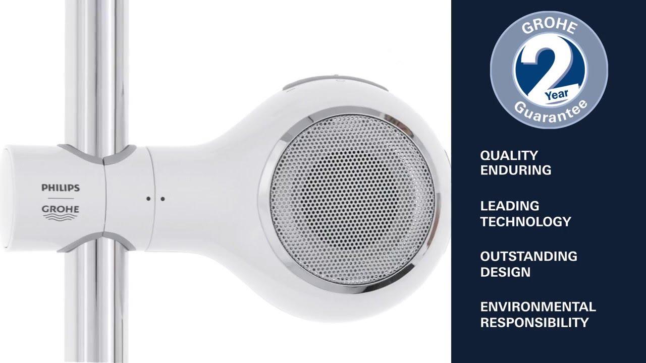 Bluetooth hÖgtalare grohe aquatunes   ljud   interiör & dekoration ...