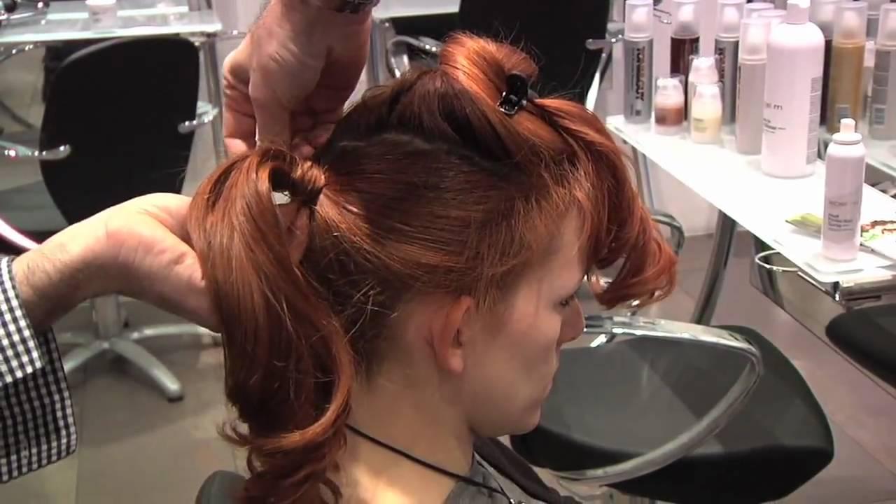 Video lezioni di styling per capelli molto lunghi (@ Toni&Guy Milano  - video di acconciature per capelli lunghi