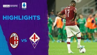 Milan 1-3 Fiorentina | Serie A 19/20 Match Highlights