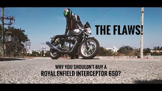 5 Biggest Flaws With The Royal Enfield Interceptor 650