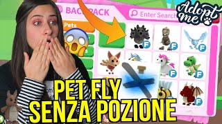 Come FAR VOLARE i PET SENZA POZIONE FLY 😱 Roblox ADOPT ME ITA By FrancyDreams