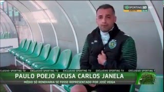 Paulo Poeja arrasa ex: director do Sporting Carlos Janela