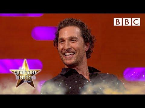 Matthew McConaughey's mother wants to run his life… 😅 - BBC