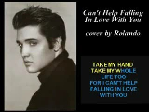 Can't Help Falling In Love With You - cover - YouTube