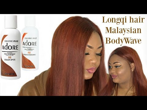 Bleach Amp Dye On Longqi Malaysian Body Wave Adore Cajun