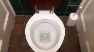 Brooklands Motor Museum toilets HL Heritage & Brown Edwardian Urinals