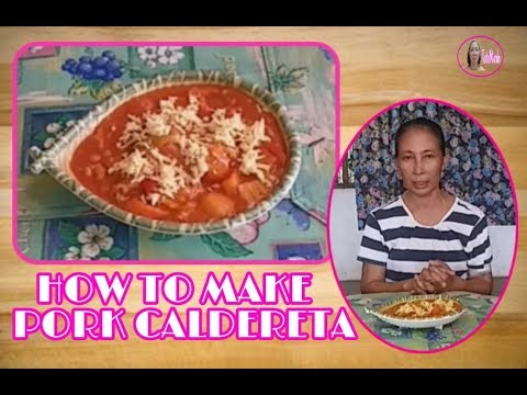 HOW TO COOK PORK CALDERETA (my own version)