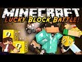 Minecraft Modded Mini-Game : LUCKY BLOCK BATTLE!