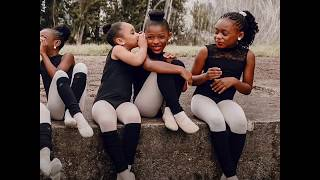 Adorable ballerinas pose together in honor of Black History Month l GMA Digital