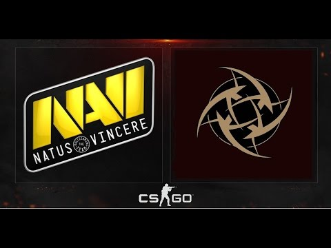 NaVi vs NiP - EPICENTER Moscow -  overpass (Game 2)