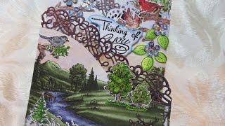 Heartfelt Creations Card Share Woodsy Wonderland Fold Out