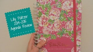 Review: Lilly Pulitzer Agenda 2014-2015 (large size) || Back to School Series Thumbnail