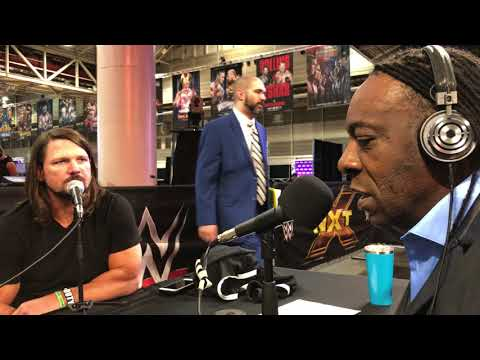 AJ Styles Interview with Booker T & Brad Gilmore