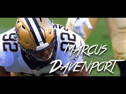 Marcus Davenport Preseason 2018 ᴴᴰ | Debut - PS Wk 3-4