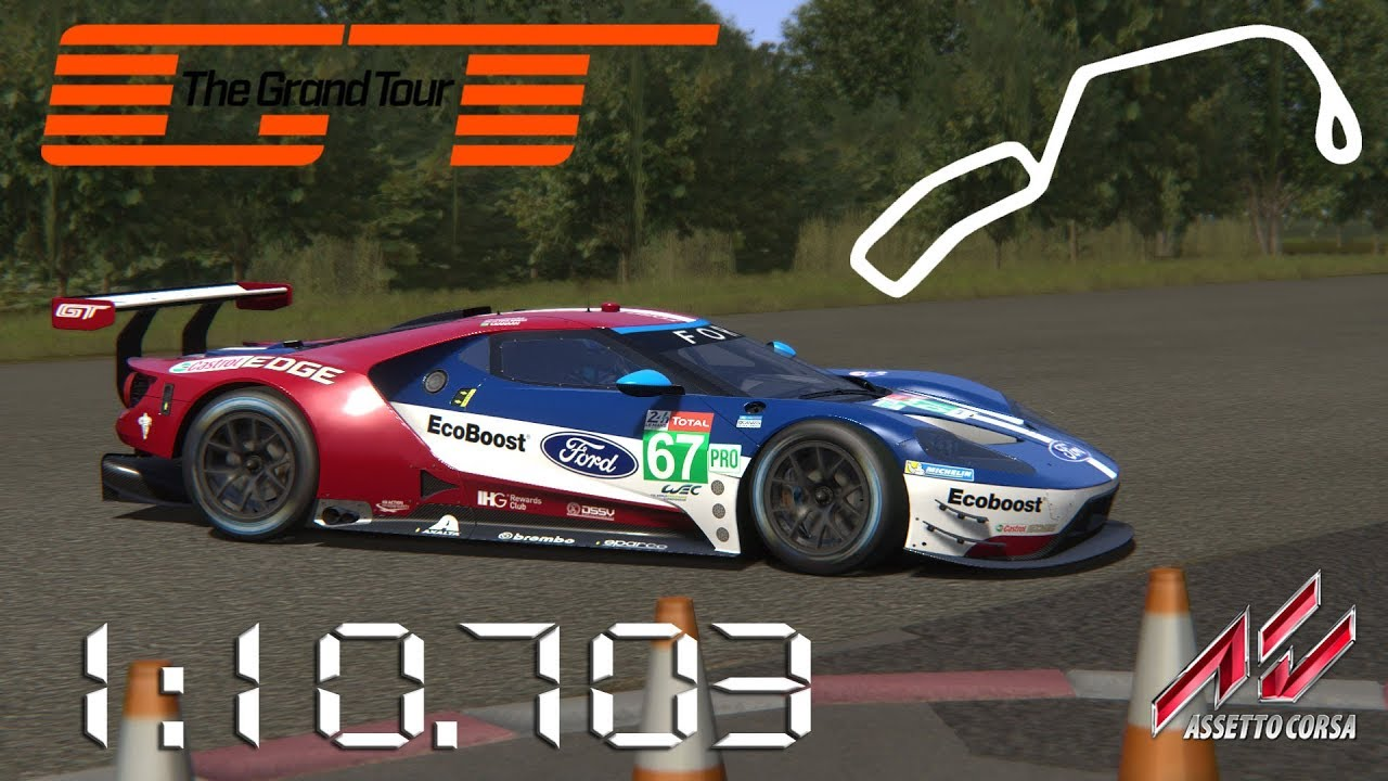 Assetto Corsa  Ford Gt Lm Gte The Grand Tour Eboladrome Lap Times