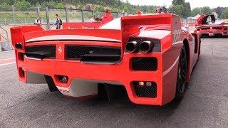 Ferrari FXX - INSANE V12 SOUNDS!!