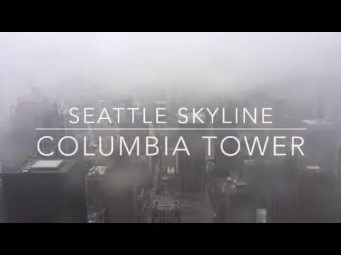 Time Lapse of Seattle Skyline