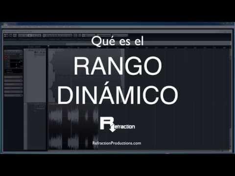 Qué es el rango dinámico en audio - producción musical