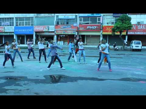 balam pichkari (yeh jawani hai deewani) dance steps by step2step dance studio,mohali-chandigarh Travel Video