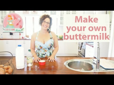 How to make your own buttermilk: Stay at Home Mum