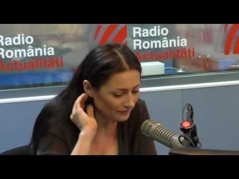 Povesti Din Basarabia. Prezentatoarea TVR, Stela Popa, La Radio Romania Actualitati