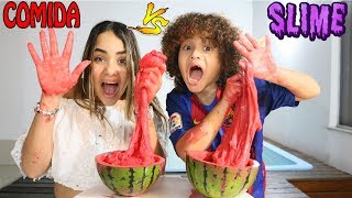 FRUTA VS SLIME - SLIME VS FOOD