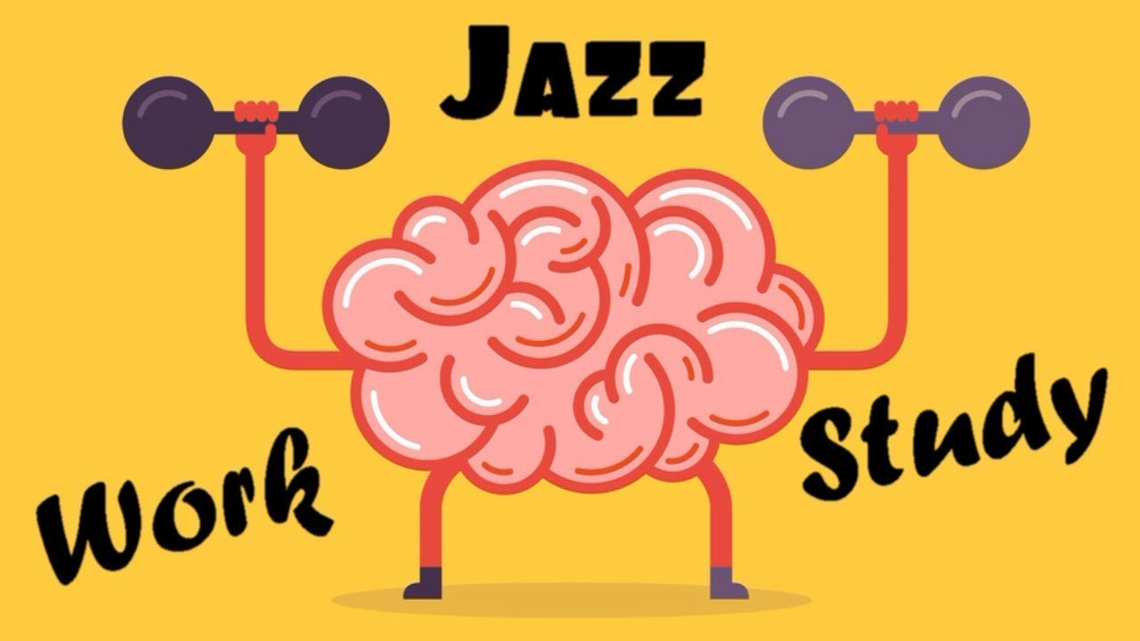 ▶️ Relaxing JAZZ For WORK -Soft Background Instrumental Music Concentration  Music for Work and Study