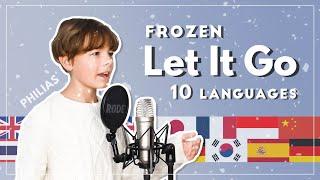 LET IT GO - Frozen - 10 LANGUAGES