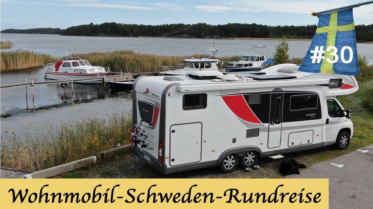 Wohnmobil Schweden Rundreise #10: Freistehen am Hafen