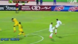 هدف صاروخي رائع لسفير تايدر في مباراة الجزائر و إثيوبيا 7-1  بتعليق حفيظ دراجي