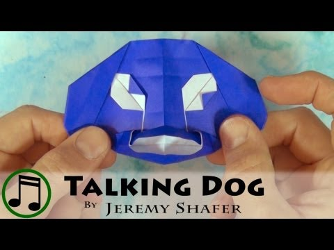 Funny Looking Talking Dog (with music)