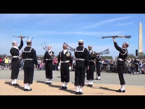 JSDTC | 2014 | United States Navy | Ceremonial Guard Drill Team | Armed Exhibition