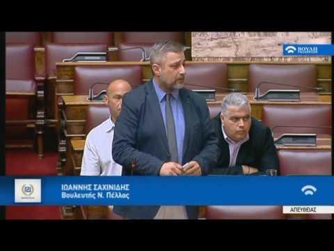 Γ. Σαχινίδης: ΣΥΡΙΖΑ-ΑΝΕΛ συνυπεύθυνοι για την καταστροφή της αγροτικής παραγωγής!