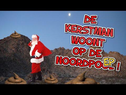 VIEZE KERSTLIEDJES   De kerstman woont op de Noordpo...WAT??!!!   Grappige kerst muziek!